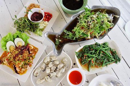 Thai Seafood - Nontnatee Reataurant . Nonthaburi - Thailand