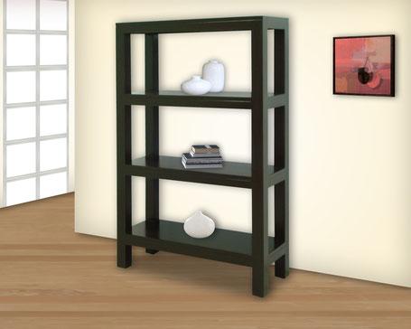 Mesas para televisi n cat logo de productos muebles gm for Mueble 3 estantes