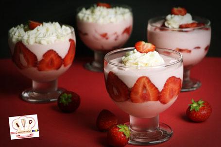 Hanuma Erdbeermousse Mus od jagoda