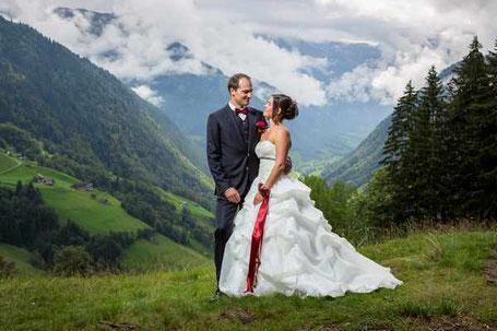 Hochzeitspose