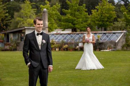 Das erste Mal, dass sich Braut und Bräutigam sehen (First View)