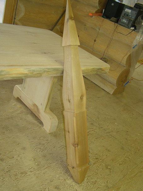 Log  structure trus pendant