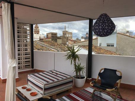 Dachterrasse Hotel MD Design Valencia Portal del Real