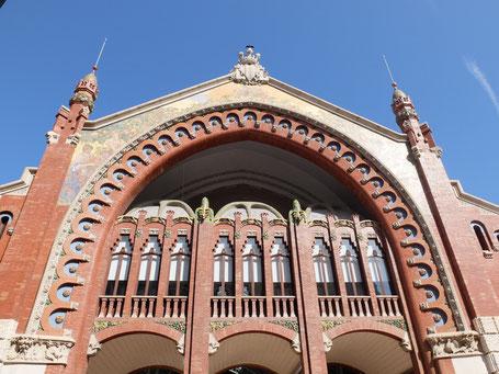 Mercado de Colon Stadswandeling Valencia nederlands architectuur