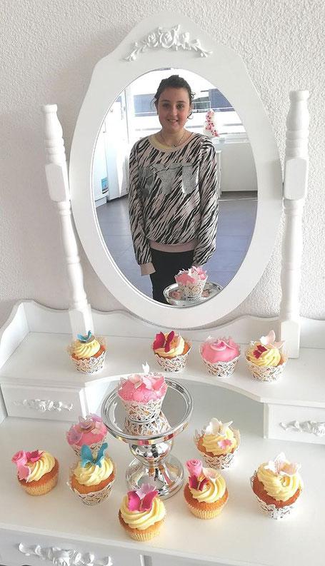 Cupcakes mit Schmetterling
