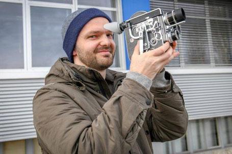 Yverdon, 12.03.19, Alexandre Favre cinéaste. © Carole Alkabes