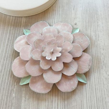 Blume aus Blech selbermachen