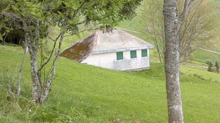 La casa di Heidegger a Todtnauberg