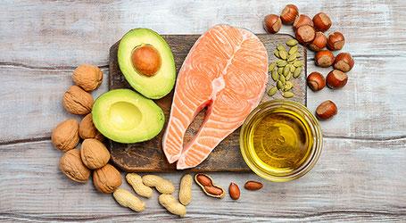 eet vetrijker voedsel als je wandelt