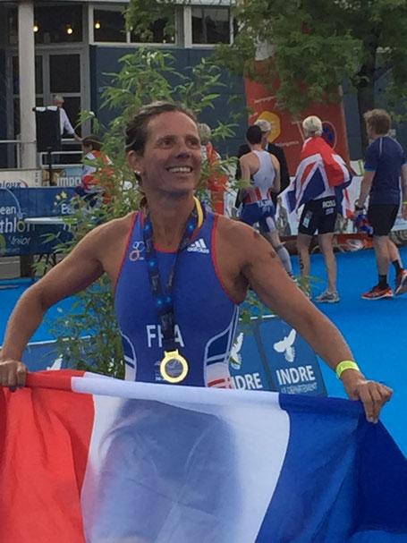 Nathalie Journaux, ma femme, championne de france, europe et mondial d'aquathlon 2016-2017