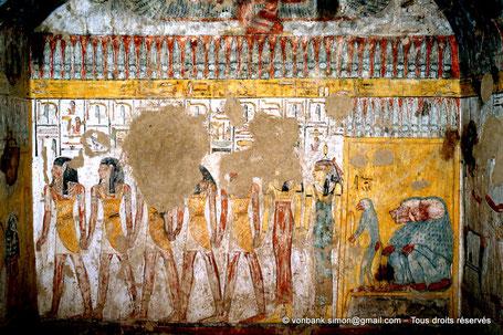 QV 40 Princesse inconnue (XIX° dynastie) - Vallée des reines - Egypte