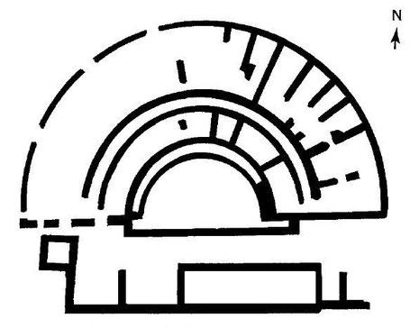 Haïdra (Ammaedara) : Plan du théâtre