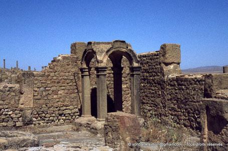 Timgad (Thamugadi) : Edicule dédié à Fortuna Venus Aug.