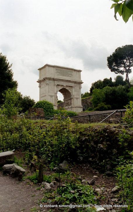 Rome - Arc de Titus - Italie