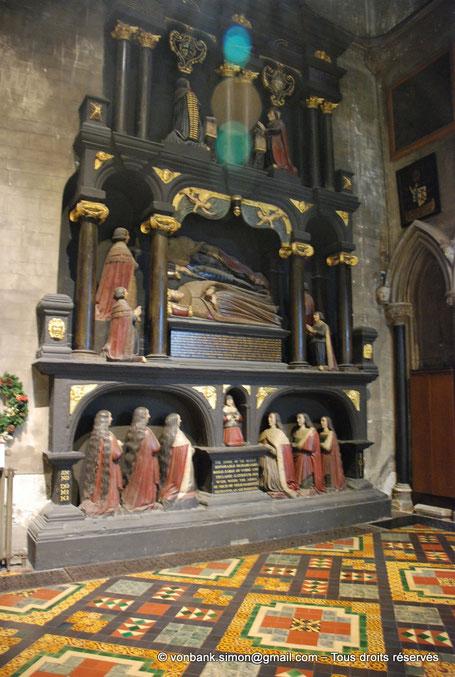 Dublin - Cathédrale Saint-Patrick : Monument de la famille Boyle (1632) - République d'Irlande