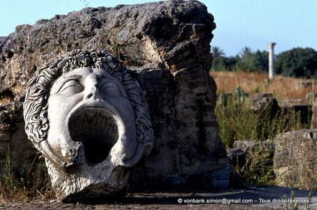 "Annaba (Hippo Regius) : Fontaine dite de ""la Gorgone"""