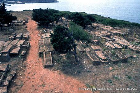 Tipasa de Maurétanie : Nécropole de Sainte Salsa