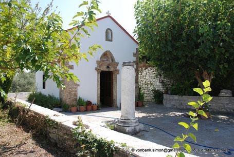 GR - Crète - Argyroupoli - Chapelle d'Agia Paraskevi (Sainte Paracève)