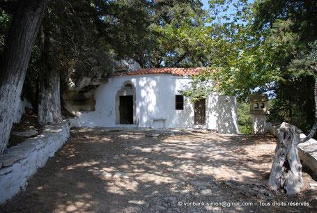 GR - Crète - Argyroupoli : Chapelle Pende Parthenes (Cinq Vierges)