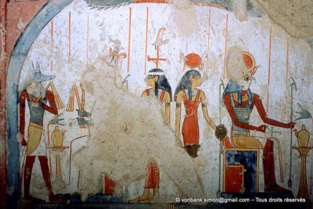 TT 69 - Menna - Vallée des nobles - Egypte