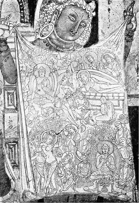 La vie de Bouddha. —  Gisbert COMBAZ (1869-1941) : La peinture chinoise vue par un peintre occidental. —  Extrait des Mélanges chinois et bouddhiques, vol. VI. Imprimerie sainte Catherine, Bruges, 1939.
