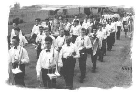 Kirmes in Treis 1958