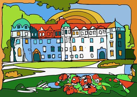 Das Schloss  Celle