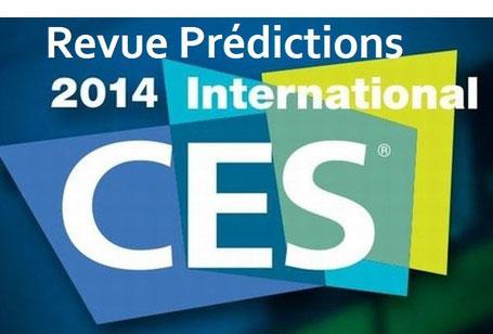 Révue des prévisions 2014 sur l'Internet of Things / Objets connectés - CES Las Vegas