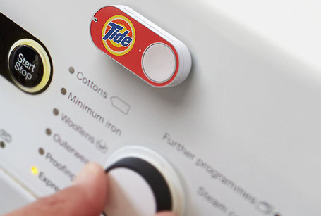 Amazon dash Machine à laver connectée