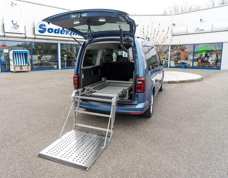 Scooterboy Rollstuhlverladesystem für Aktiv-, E-Rollis, Scooter, Sodermanns