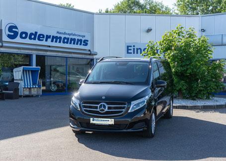 behindertengerechte Mercedes-Benz V-Klasse 220 CDI als Beifahrerumbau, Sodermanns