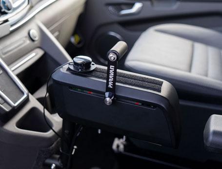 Elektronisch-digitales Lenk-Bremssystem, Gas & Bremsschieber, Drive-by-Wire, Space Drive, Sodermanns