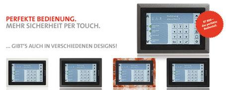 SafeTech Touchbedienfeld 800 endlich von Telenot