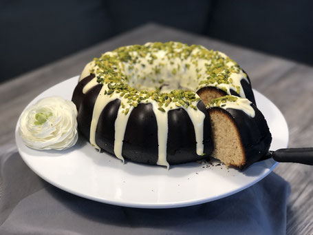 Kranzform von Pampered Chef mit Kuchen