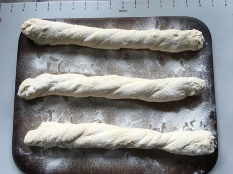 Baguettes auf dem Zuaberstein von Pampered Chef