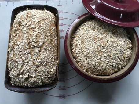 Brote in Pampered Chef Backformen