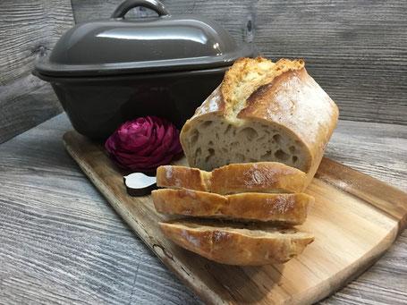 Brot ohne kneten mit kleinem Zaubermeister