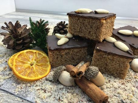 Lebkuchen mit Schokolade