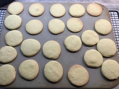 Kekse auf dem Zauberstein von Pampered Chef