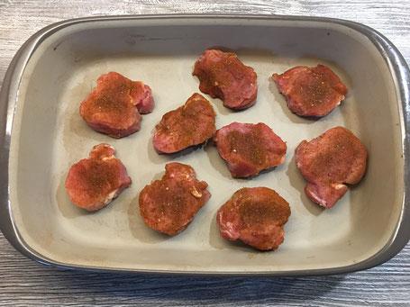 Fleisch in der Ofenhexe von Pampered Chef