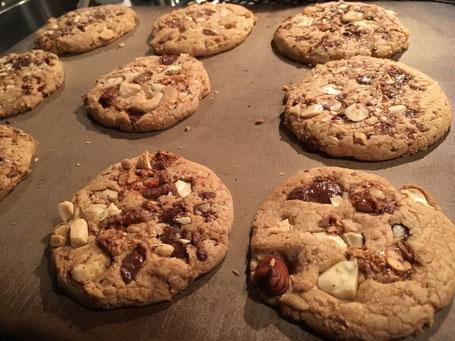 Cookies auf dem Zauberstein von Pampered Chef