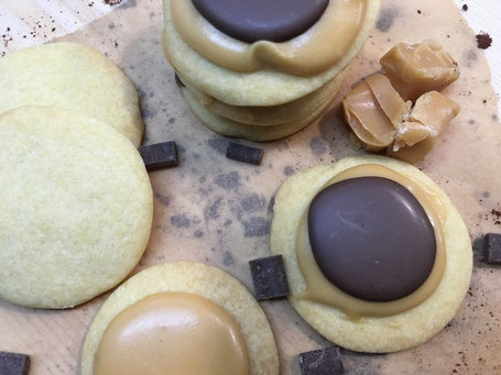 Twix-Kekse vom Zauberstein
