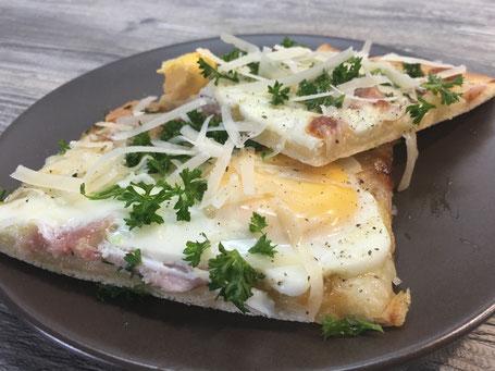 Pizza auf dem Zauberstein von Pampered Chef