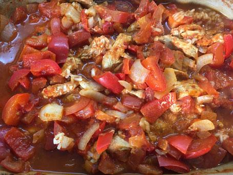 Serbisches Reisfleisch aus dem Zaubermeister von Pampered Chef