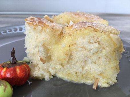Kuchen aus einer Form von Pampered Chef