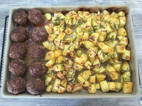 Kartoffen mit Ofenzauberer vom Pampered Chef