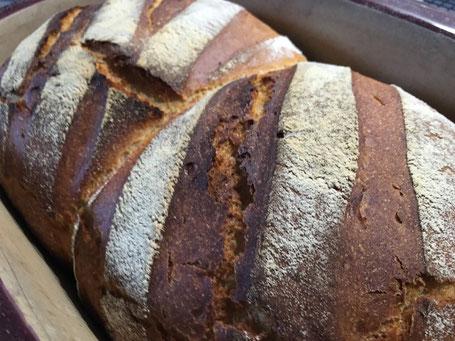 Gebackenes Brot im Zaubermeister