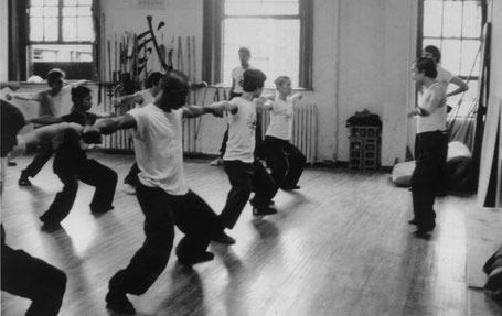 TRAINING AT THE ORIGINAL SCHOOL (28th STREET) IN 1975