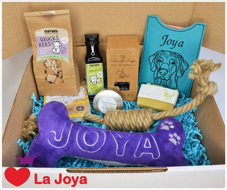 Hundegeschenkbox Geschenkbox für Hunde Pfötlibox