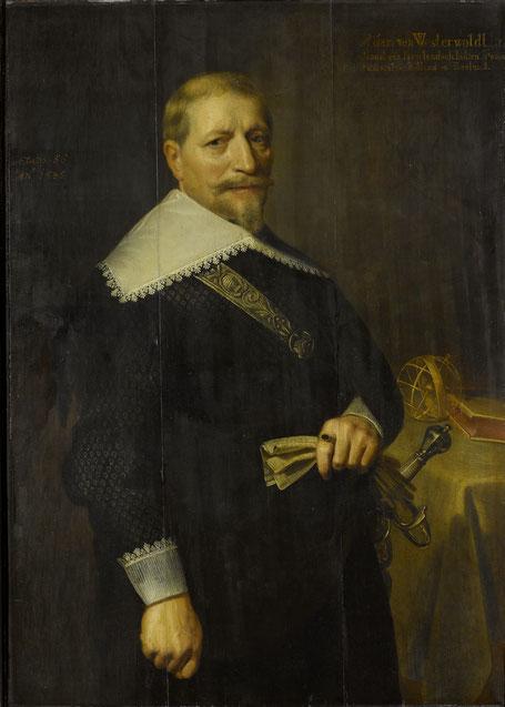 Admiraal Adam Westerwolt, 1636 collectie Rijksmuseum